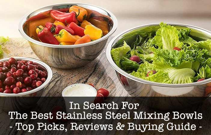 best stainless steel mixing bowls