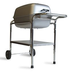 Portable Kitchen PK 99740 Cast Aluminum Charcoal Grill