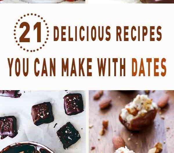 21 delicious recipes