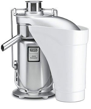 Waring Pro JE2000 Commercial Juicer with Pulp Ejection