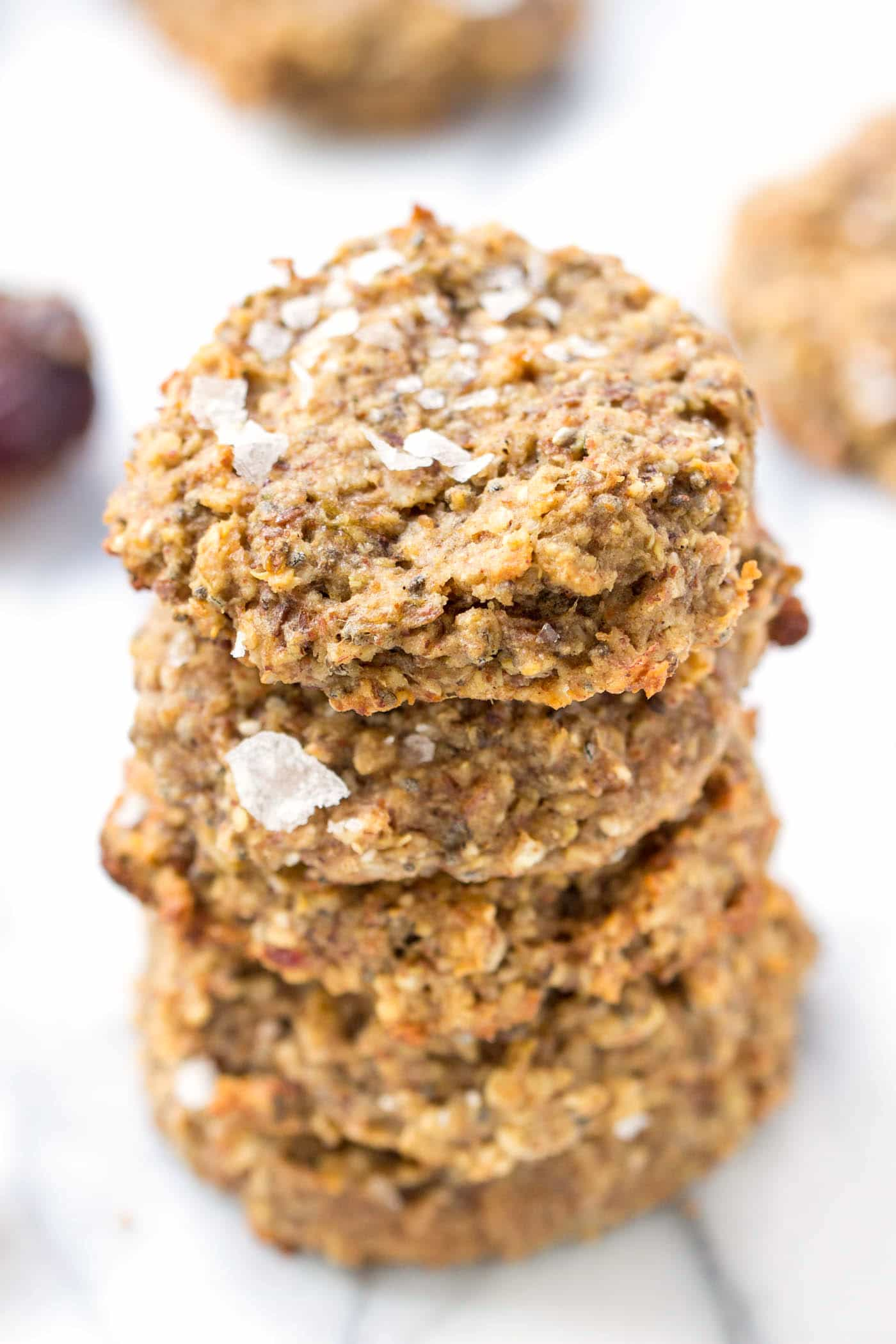 Sea Salt + Date Quinoa Breakfast Cookies
