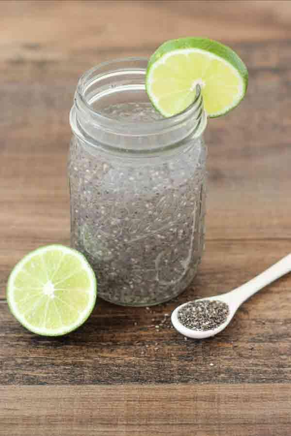 Chia Detox Water