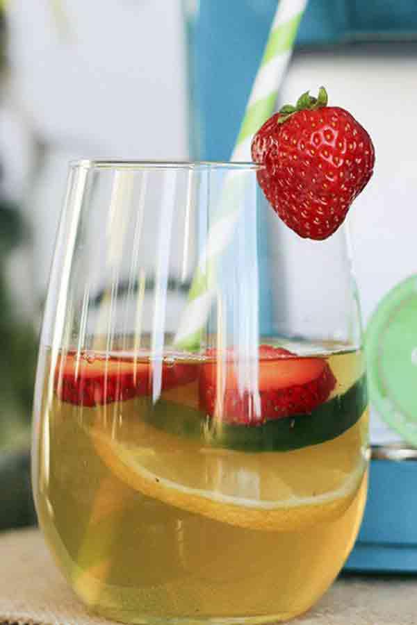 Iced Green Tea Detox