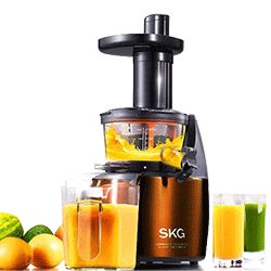 SKG Premium 2-in-1 Slow Masticating Juicer