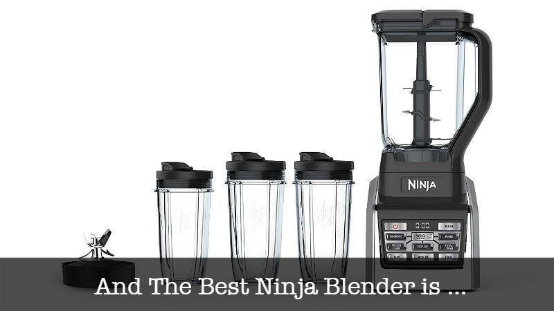 The Best Ninja Blender