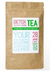 28 Day Bedtime Cleanse Tea Detox Skinny Herb Tea
