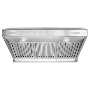 BV Stainless Steel 30 Inch Under Cabinet High Airflow Ducted Range Hood