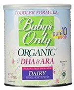 Babys Only Organic Dairy with DHA and ARA Formula Milk