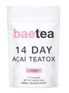 Baetea 14 Day Acai Teatox Gentle Detox Tea