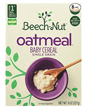Beech Nut Cereal of Oatmeal
