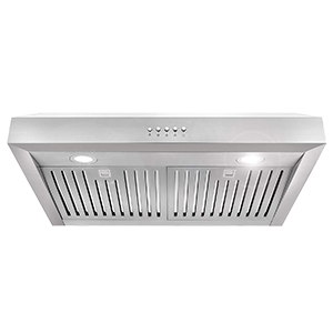 Cosmo 30 Inch Ducted Under Cabinet Range Hood