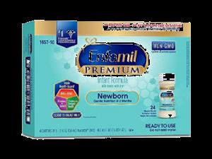 Enfamil Newborn Baby Formula in Plastic Nursette Bottles