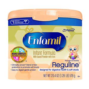 Enfamil Reguline Infant Formula Reusable Powder Tub