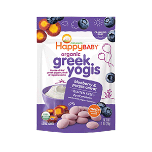 Happy Baby Organic Greek Yogis Baby Food