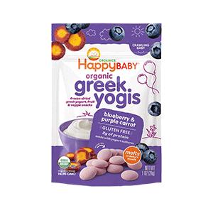 Happy Baby Organic Greek Yogis Baby Food