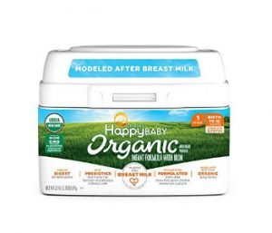 Happy Baby Organic Infant Formula Milk-Based Powder with Iron
