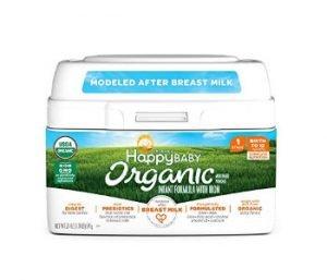 Happy Baby Organic Infant Formula Milk-Based Powder with Iron