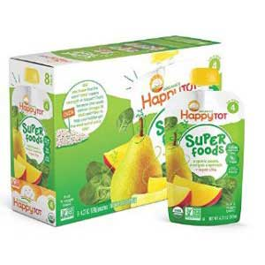 Happy Tot Stage 4 Organic Baby Foods