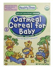 Healthy Times Oatmeal Cereal for Baby