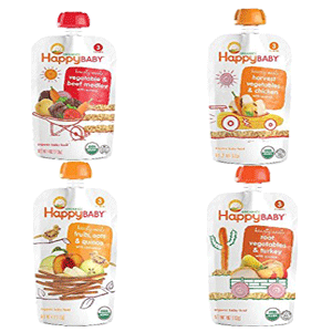 Hearty Meals Variety Pack Organic Baby Food