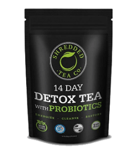 Shredded Tea Detox With Probiotics