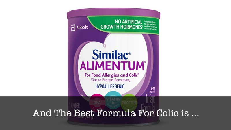 The Best Formula For Colic