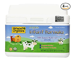 Vermont Organics Milk-Based Organic Formula Milk