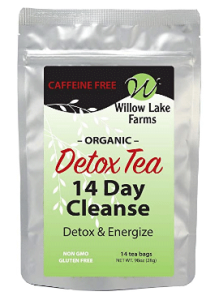 Organic Cleanse Decaffeinated Detox Tea for Weight Loss