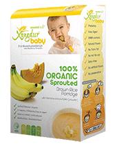Baby Rice Cereal Organic With Banana and Pumpkin Powder