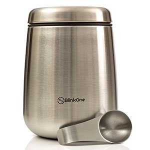 BlinkOne Airtight Coffee Bean Storage Container