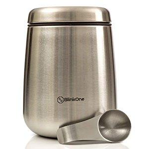 BlinkOne Airtight Coffee Bean Storage Container