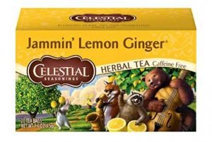 Celestial Seasonings Lemon Ginger Herbal Tea
