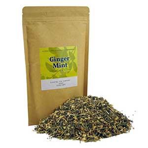 Coastal Tea Ginger Mint Lemongrass Green Tea for Sickness