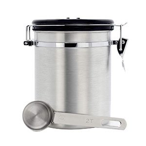 Coffee Canister Airtight Seal Set with Scoop