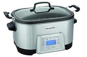 Crock Pot Stainless Steel Cooker