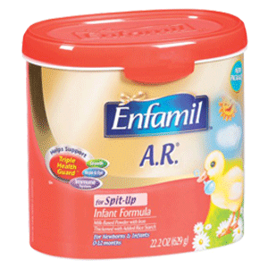 Enfamil A.R Baby Formula Powder In Reusable Tub
