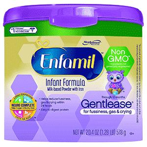 Enfamil Gentlease Non GMO Baby Formula