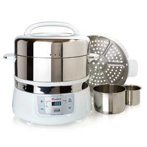 Euro Cuisine Electric Food Steamer