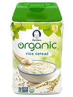 Gerber Organic Rice Cereal