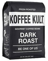 Koffee Kult Dark Roast Coffee for Espresso