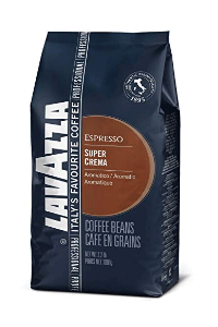 Lavazza Super Crema Coffee Bean for Espresso