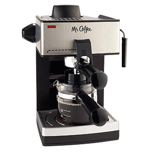 Mr. Coffee 4 Cup Steam Espresso System