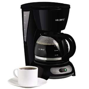 Mr. Coffee 4 Cup Switch Drip Coffee Maker