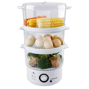 Ovente Electric Vegetable and Food Steamer