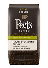 Peets Coffee, Decaf Major Dickasons Blend Ground
