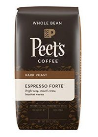 Peets Coffee Whole Coffee Bean for Espresso Machine