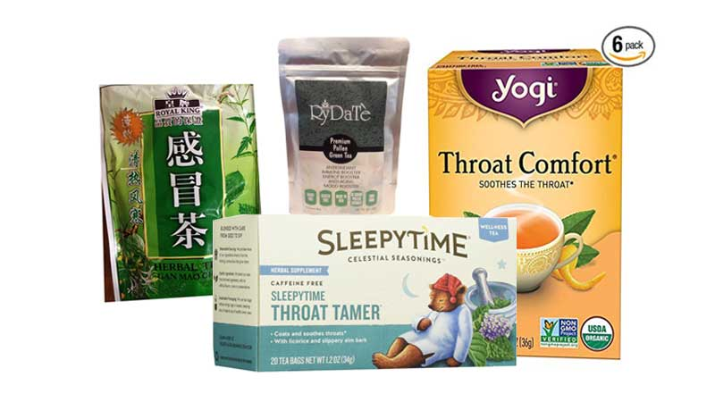 Recommended Tea for Sore Throat