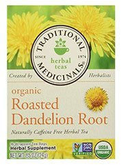 Roasted Dandelion Root Tea for Bloating Relief