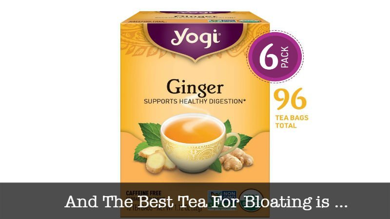 The Best Tea For Bloating