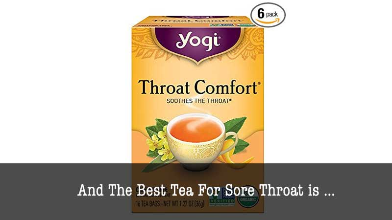 The Best Tea for Sore Throat